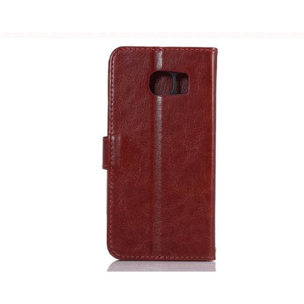 Sheep Pattern Pu Leather Stand Case Cover For Samsung Galaxy S6 Edge