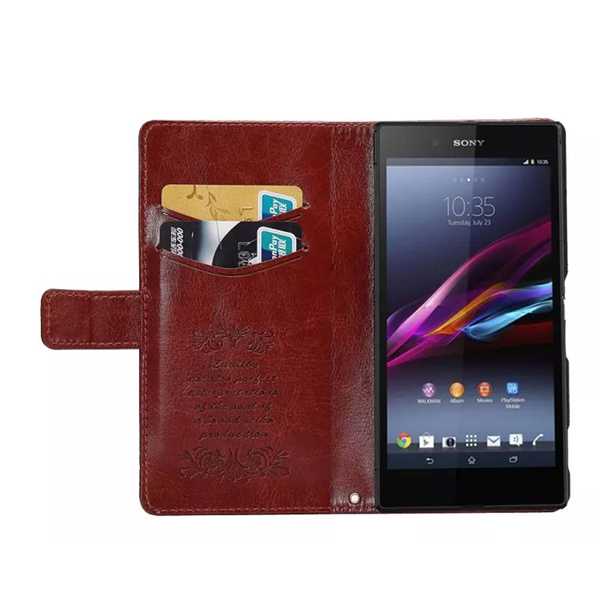 Sheep Pattern Pu Leather Stand Case Cover For Sony Xperia Z4