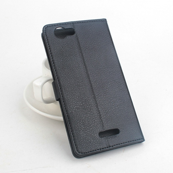 Flip PU Magnetic Leather Protective Case For Wiko Ridge Fab 4G