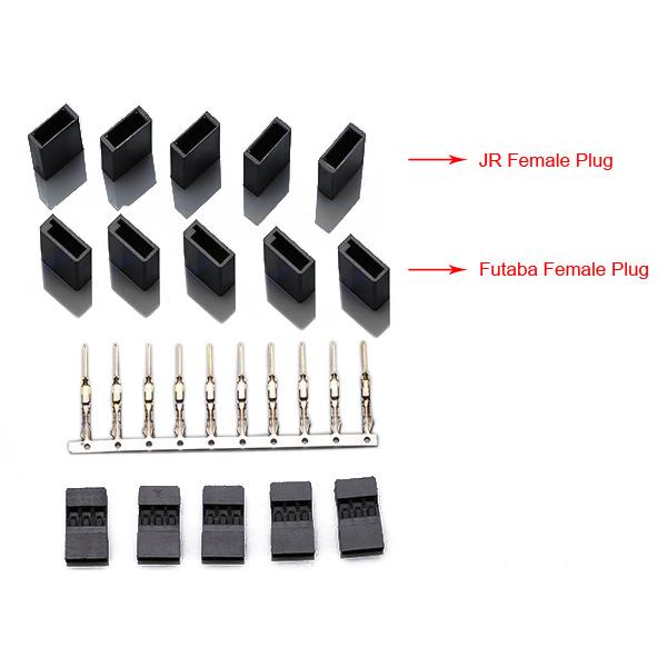 Rainbow JR Plug Servo Plug Buckle Male Female Connector Plug