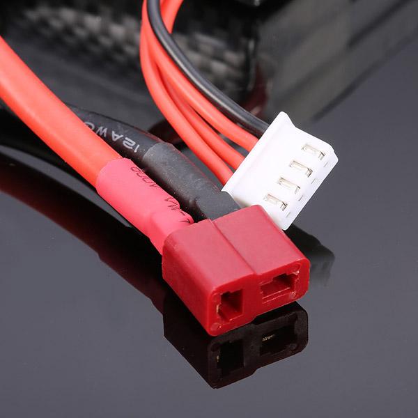 ZOP Power 11.1 V 4000 MAH 3S 30 C Lipo Batteria T Plug per JLB 21101 Car