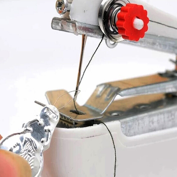 Portable Mini Manual Clothes Sewing Machine Handicraft DIY