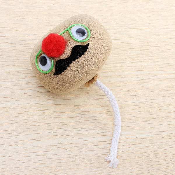 Mini DIY Magic Grass Plant Pot Head Doll Desktop Office Potted