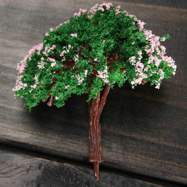 DIY Mini Decor Plastic Tree Micro Landscape Bottle Decorations