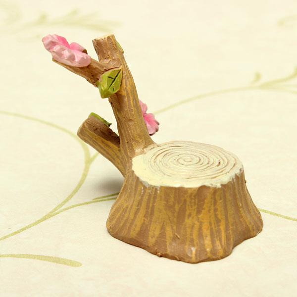 Mini Cherry Tree Micro Landscape Decorations Garden DIY Decor