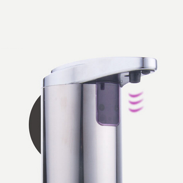 Stainless Infrared Automatic Sensor Hand Sanitizer Soap Dispenser