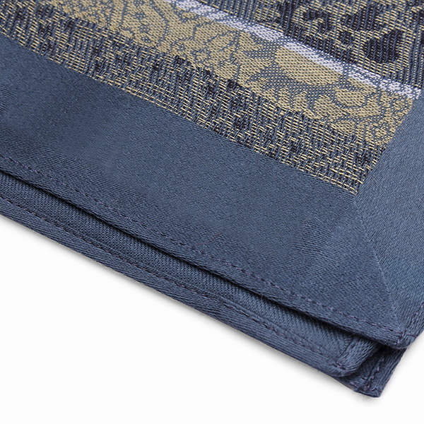 Square Cotton Soft Jacquard Men Handkerchief Pocket Hankies Wedding Party
