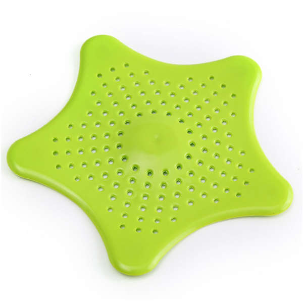 Rubber Starfish Drain Hair Strainer Bath Shower Sewer Cover Hairs Filter