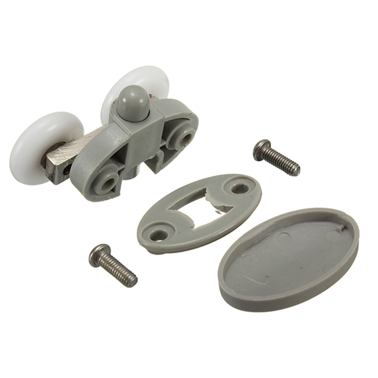 2Pcs Shower Door Wheel Glass Door Bottom Rollers Runners Pulleys Wheels