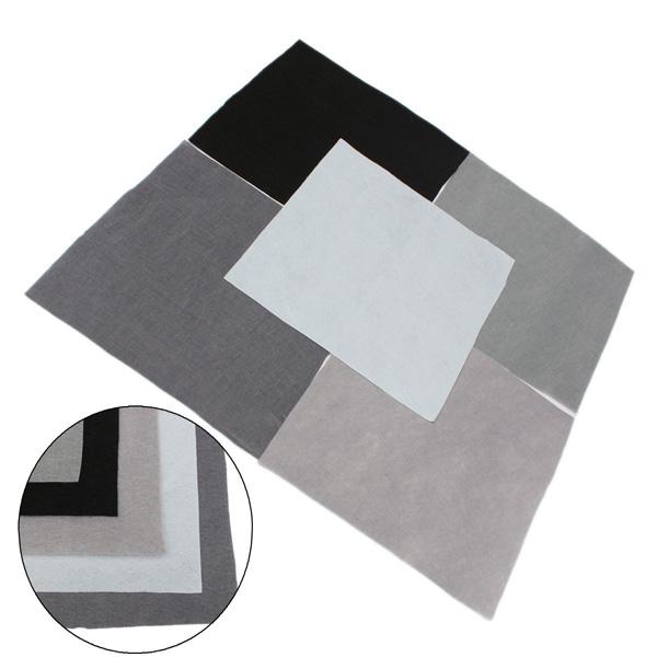 30x30cm Squares Non Woven Fabric Felt Sheets For DIY Art Handicraft Scrapbooks