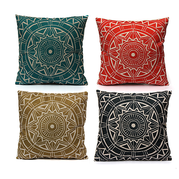 Nordic style Decorative Pillow Case Linen Cotton Cushion Cover