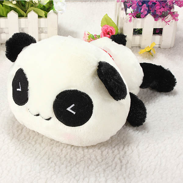 35 45 55cm Cute Panda Cushion Soft Home Car Seat Throw Pillow