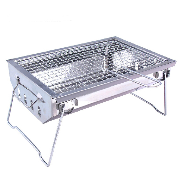 Stainless Steel Barbecue Pits BBQ Oven Camping Charbroi