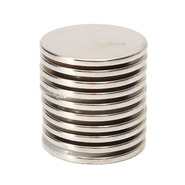 10pcs 25x2mm n35 strong round rare earth neodymium magnet