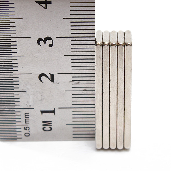 5 Chiếc Super Strong Cuboid Block Magnet Rare Earth N35 Neodymium Đồ Chơi Từ Tính
