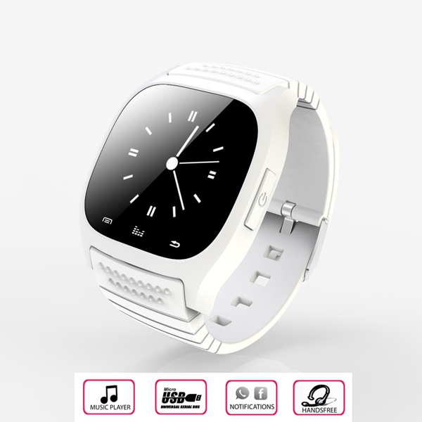 M26 Bluetooth R-Watch SMS Anti Lost Smart Watch For Android