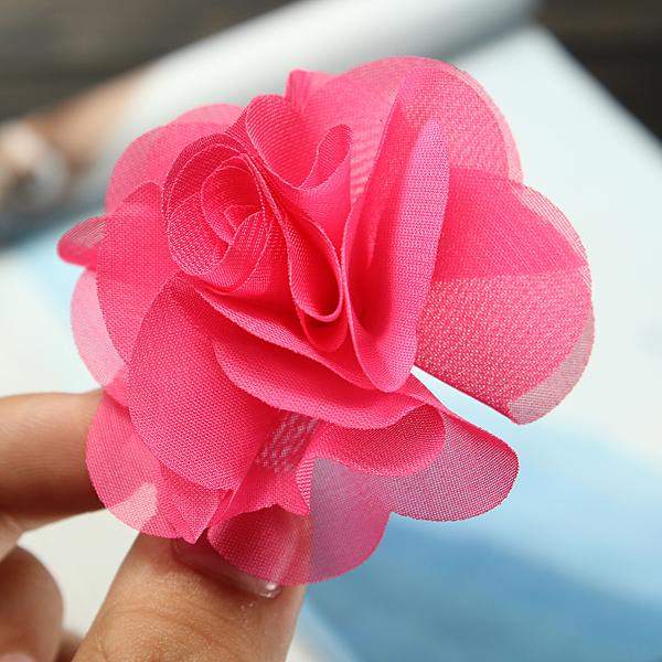 Children Girls Flower Headdress Wedding Clip Hair Accessories