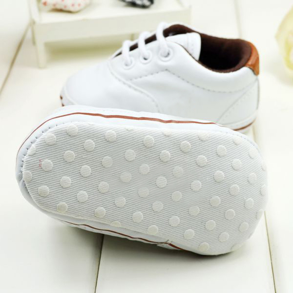 Baby Toddler PU Leather Sneaker Soft Sole Unisex Shoes