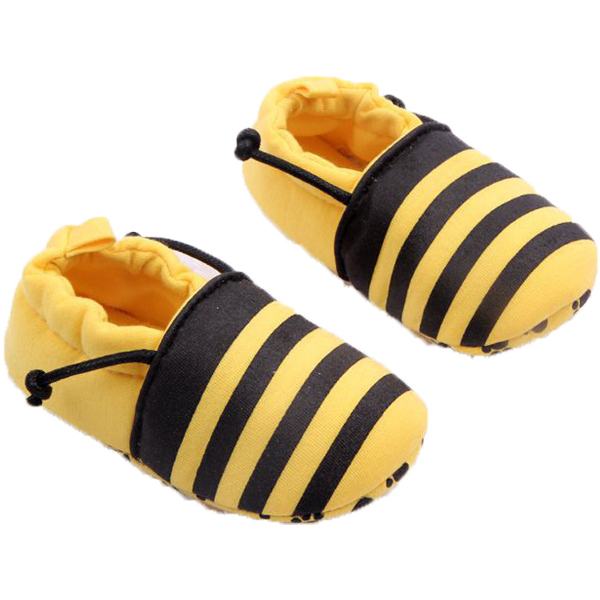 Newborn Baby Kids Toddler Anti Lost Elastic Soft Soled Shoes