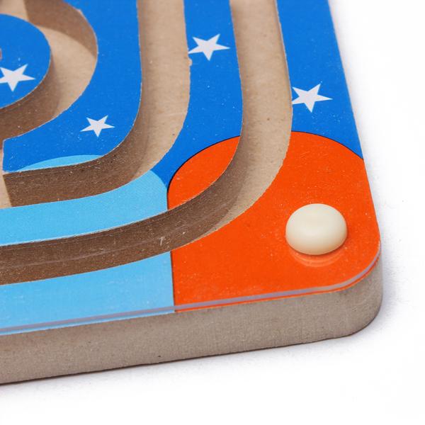 Wooden Magnetic Maze Educational Development Toys