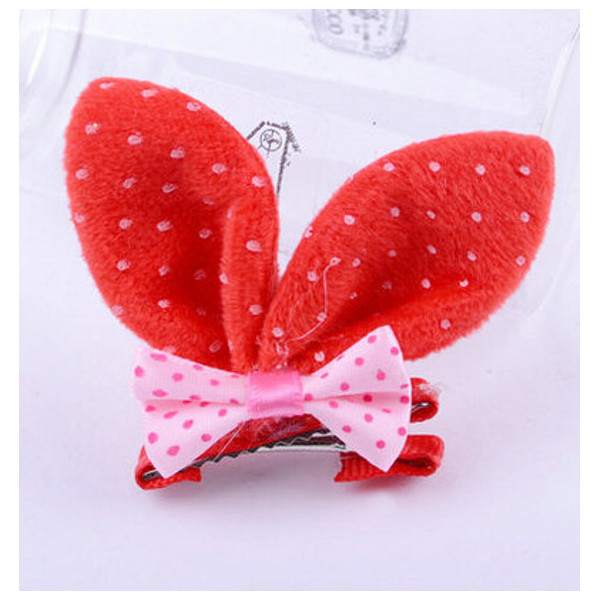 Children Girls Rabbit Ear Bowknot Hair Band Hair Accessories
