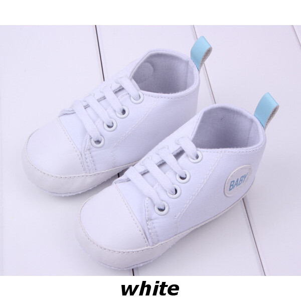 Baby Sports First Walkers Sneakers Soft Bottom Canvas Shoes