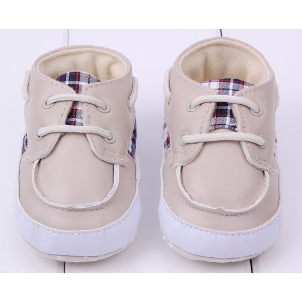 Baby Classic Style Casual Plaid Shoes Toddler Boots