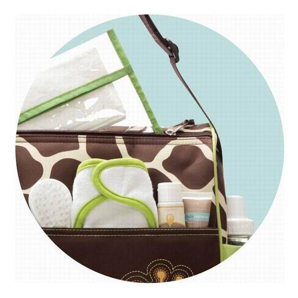 Mummy Giraffe Zebra Pattern Diaper Bags Tote Baby Care Storage Handbag