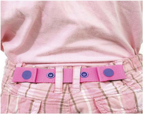 Baby Children Kids Adjustable Length Waist Tighten Elastic Casual Trousers Pants Loose Fitted Belt Strap Clip