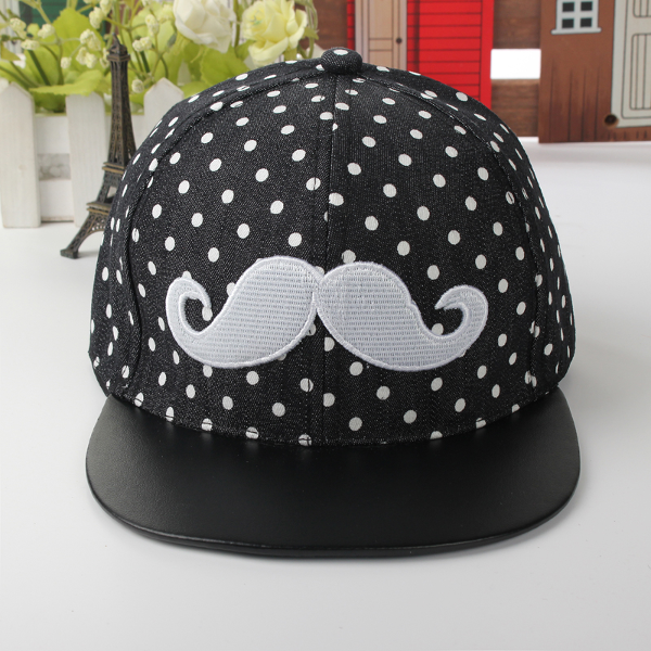 Baby Children Canvas Beard Hat Hip-hop Baseball Cap