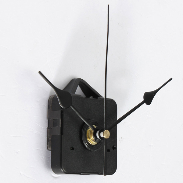 Black Hands Quartz Clock Wall Movement DIY Mechanism Repair Tool