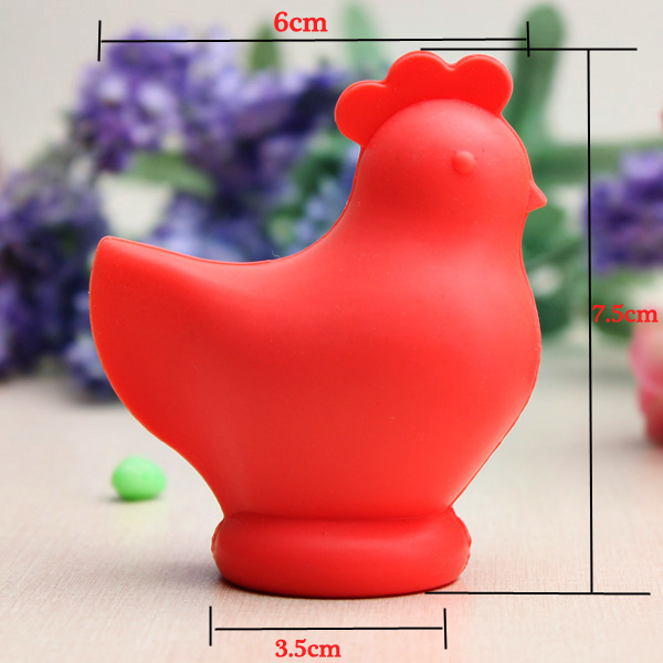 Chicken Shaped Food Grade Silicone Egg Yolk Separator Cooking Tools