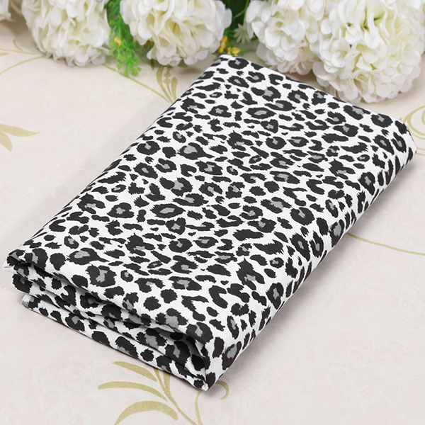 Leopard Strip Print Patchwork Fabric Cotton Sewing Craft For Cloth Supplies