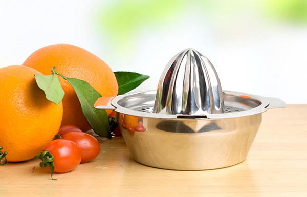 Stainless Steel Fruit Lemon Kitchen Citrus Juicer Hand Press Squeezer Tool