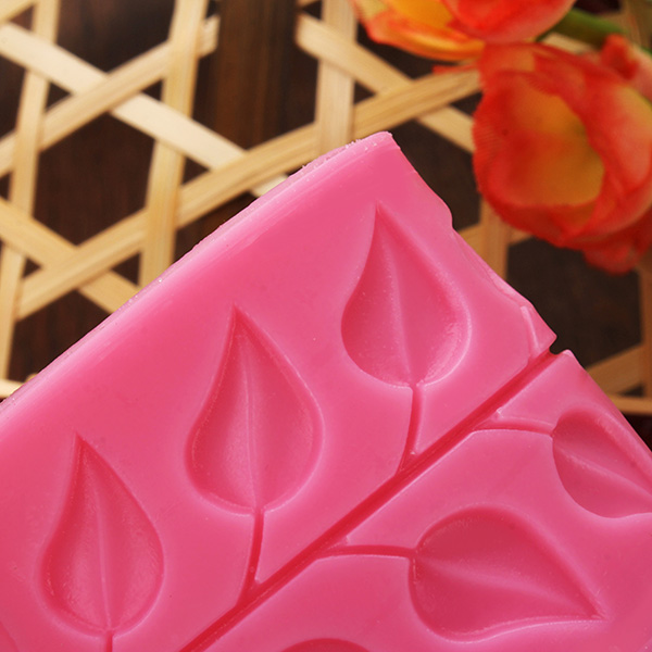 Leaves Fondant Silicone Mold Lace Cake Mould Cake Decoration Tool