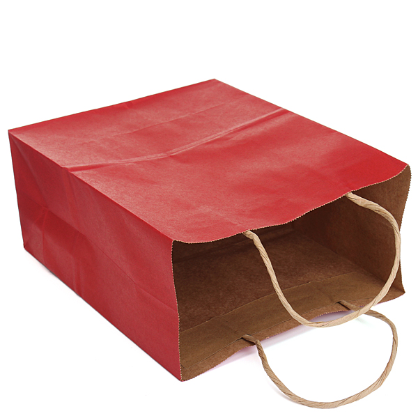 Party Luxury Recyclable Loot Kraft Paper Gift Bag