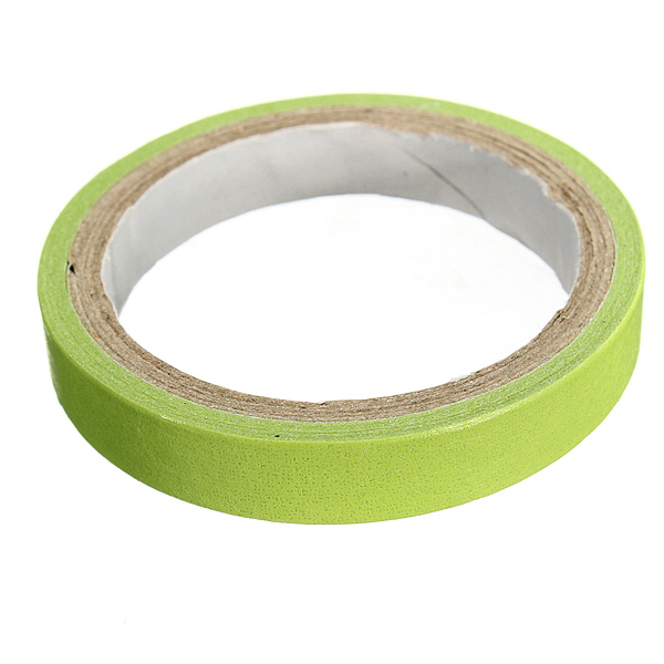 10 Paper Tape Colorful Decorative Rainbow Sticky Adhesive Scrapbooking