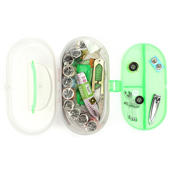 Portable DIY Needlework Accessories Kit Box Hand Sewing Kit