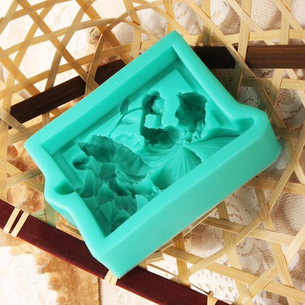 3D Silicone Angel Wing Flower Cake Mold Soap Mould Creative Kitchen Baking Accessories