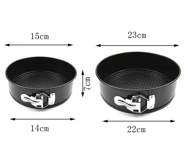 Round Cake Mold Active Bottom With Buckle