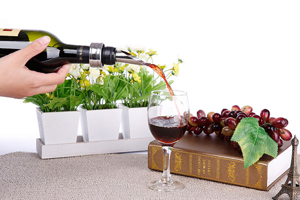 9 Pieces Red Wine Bottle Opener Set Wine Bottle Stopper Thermometer Opener