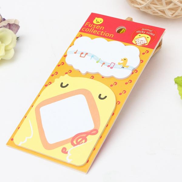 18 Animal Pattern Sticky Note Memo Pad Message Sticker