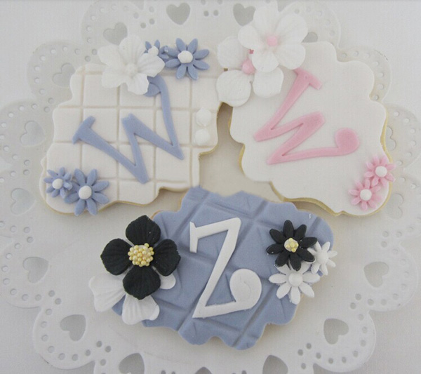 Plaque Frame Fondant Cookie Cutter Square Rectangle Oval