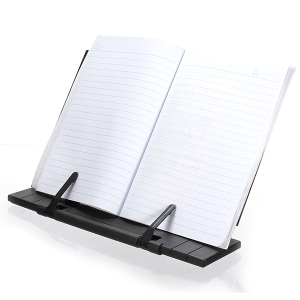Black Adjustable Portable Reading Book Stand Holder