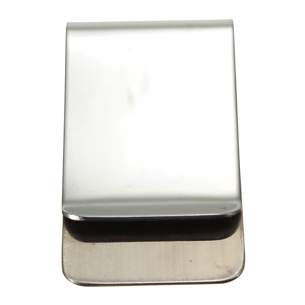 Stainless Steel Money Clip Credit Card Money Holder