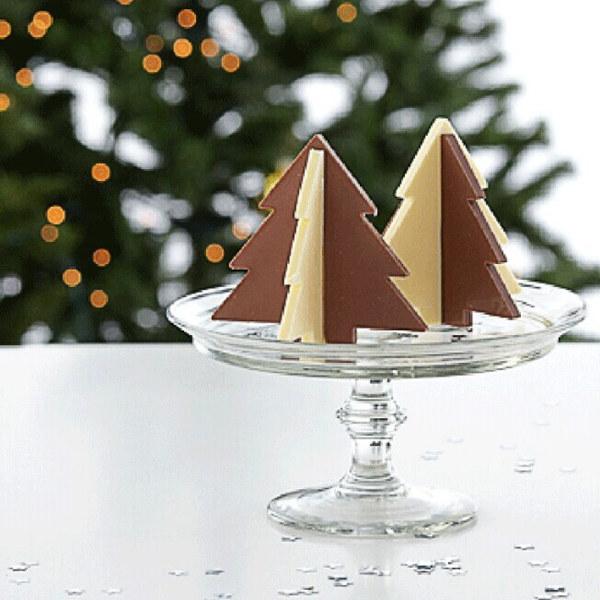 Christmas Pine Tree Chocolate Mold Fondant Cake Mould Creative Baking Tools