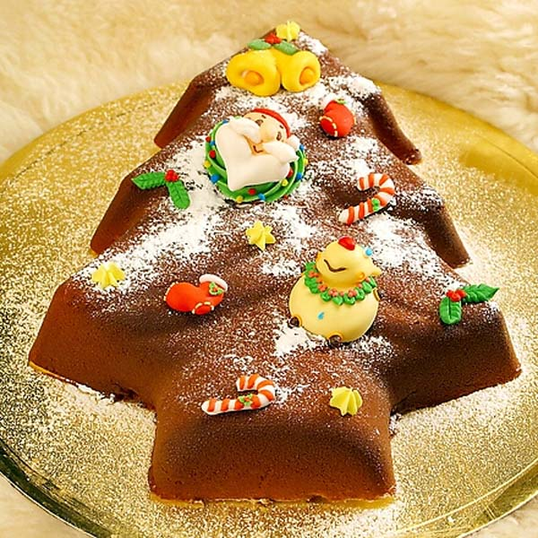 Christmas Tree Silicone Chocolate Cake Mold Jelly Pudding Mould Creative Baking Tools