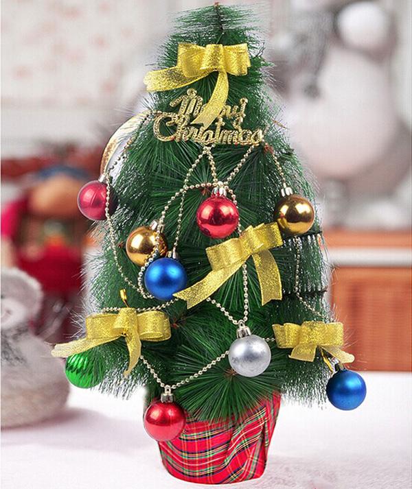 45CM Korean Desktop Christmas Tree Home Office Shop Bar Decoration