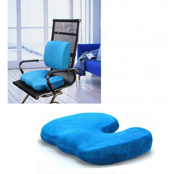 Orthopedics Seat Solution Cushion Memory Foam Back Ache