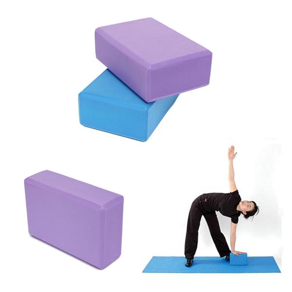 EVA Yoga Aerobic Pilates Foam Block Brick Home Exercise Fitness Prop